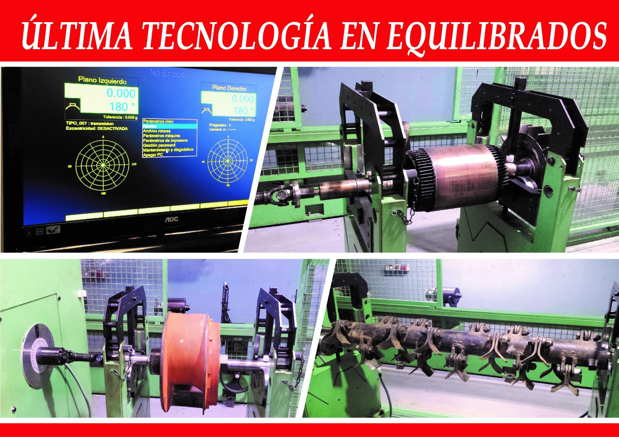ÚLTIMA TECNOLOGÍA EN EQUILIBRADOS
