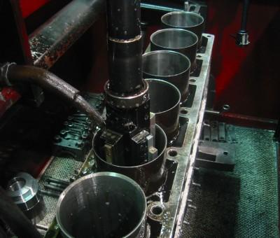 Lapeado cilindros bloque