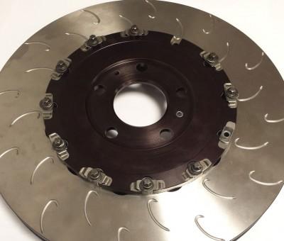 Fabricación de un soporte de disco de freno anonizado