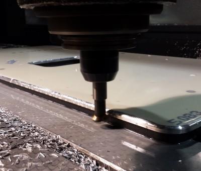 Placa Aluminio